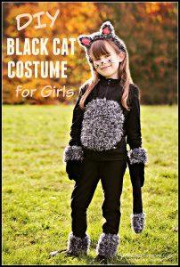 DIY cat costume