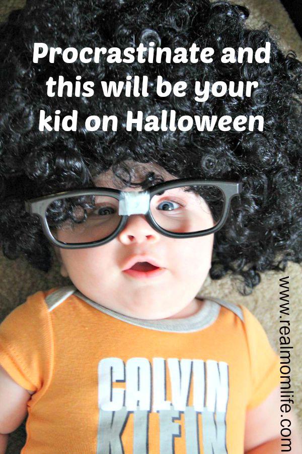 Halloween procrastination