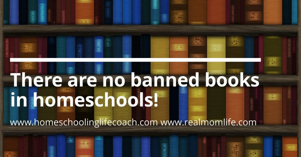 No banned books in homeschools!