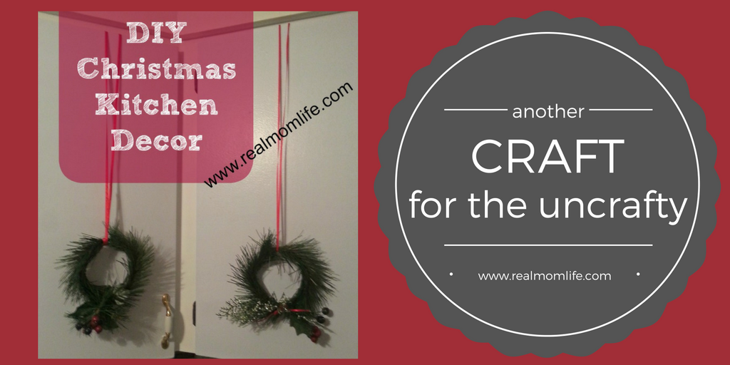 DIY Christmas Kitchen Decor