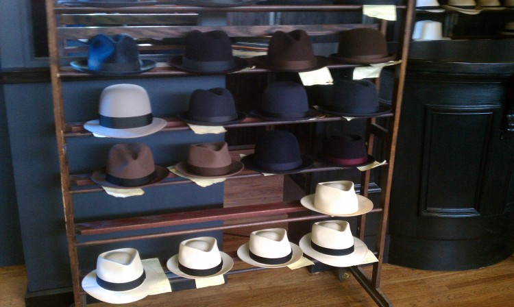 Hat Shop Field Trip