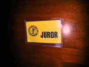 Jury duty from this side