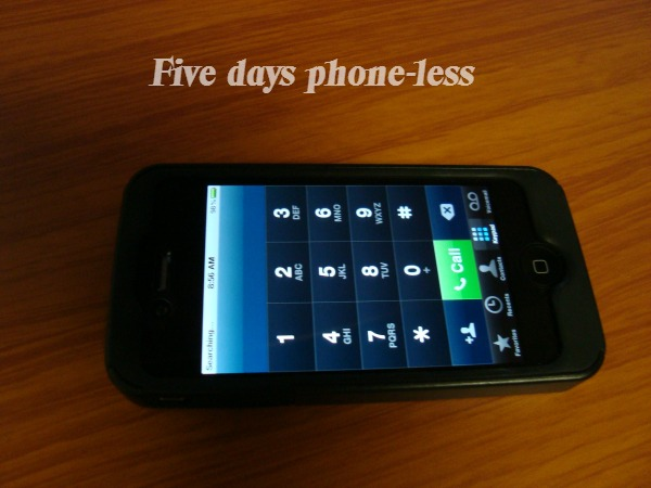 Can you go five days phone-less?