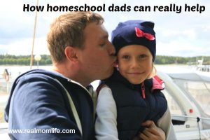 How homeschool dads can help