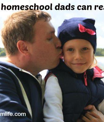 How homeschool dads can help