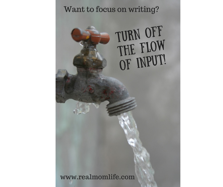 How to Focus on Writing
