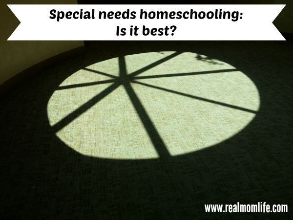 Special Needs: Is homeschooling best?