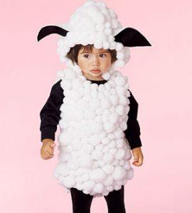 DIY Halloween little lamb