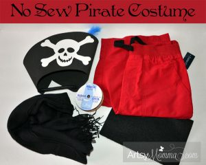 no sew pirate costume