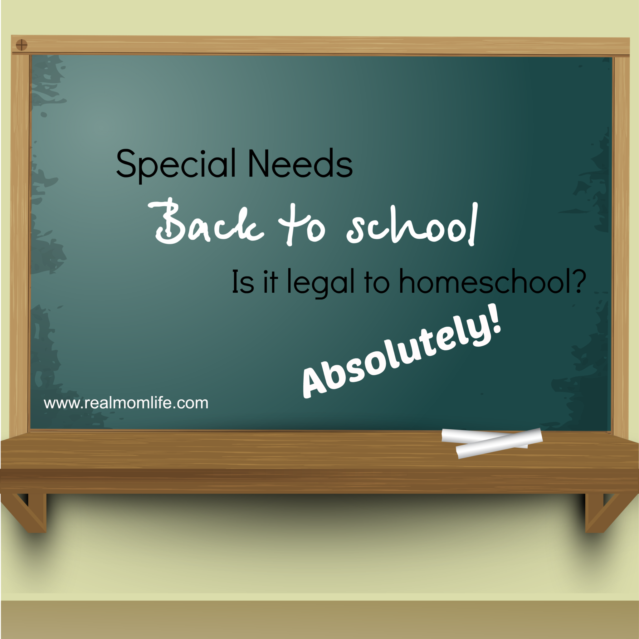 Special needs: Is it legal to homeschool?