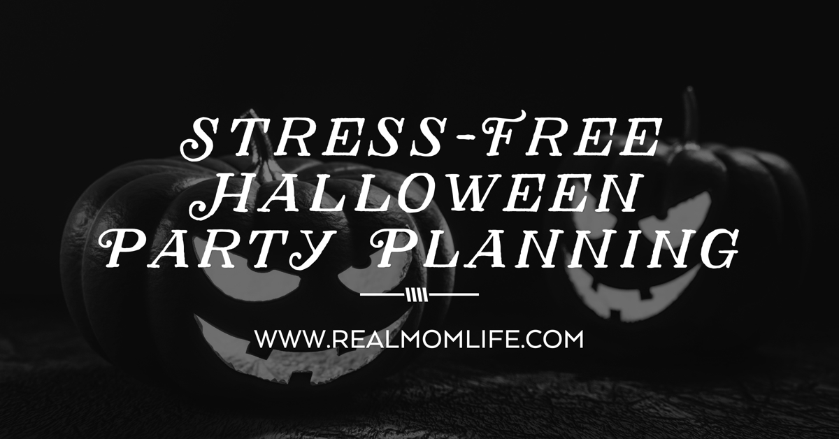 stress-free halloween party