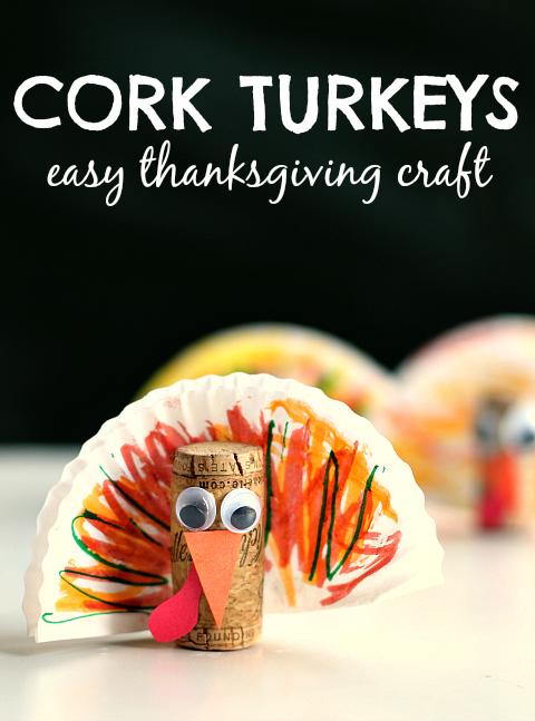 cork-turkey-craft-for-kids