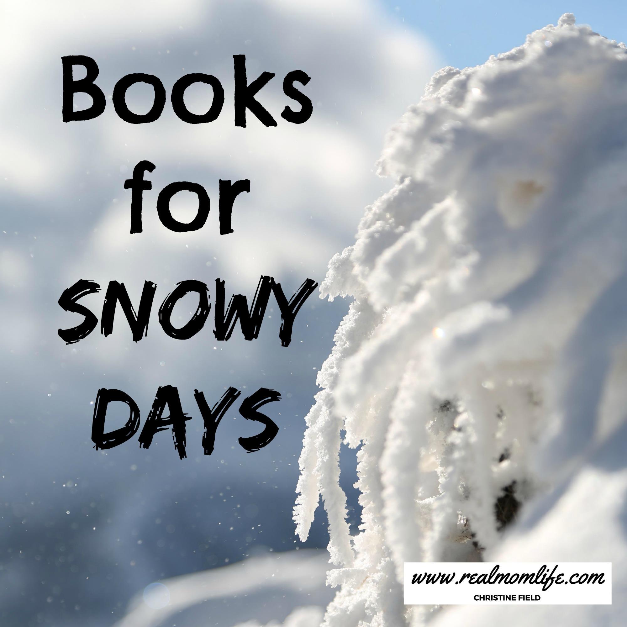 Preschool Book List: Books for snowy days