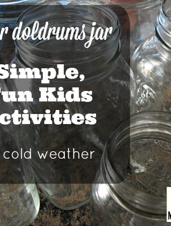 simple, fun kids activities for cold weather