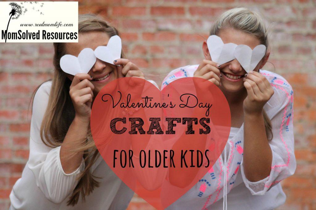 valentines day crafts for older kids