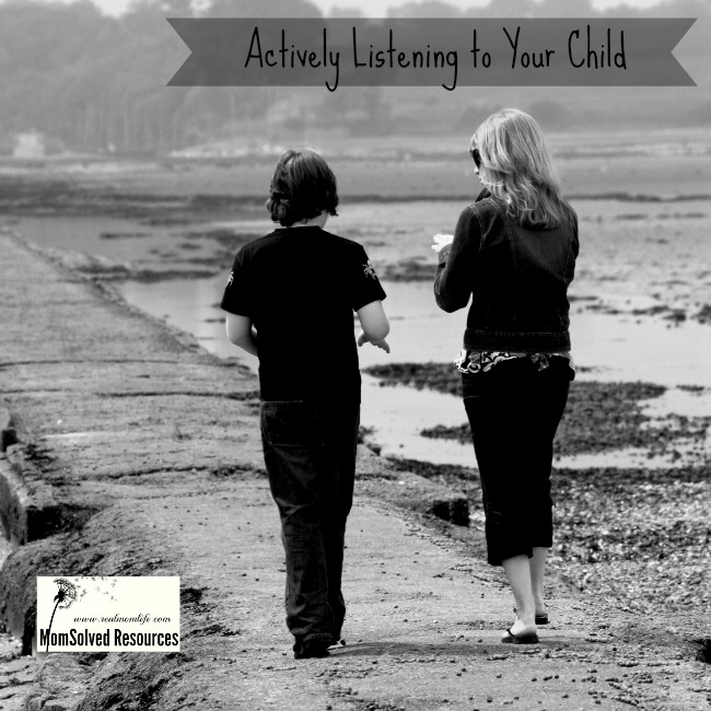actively listening to child