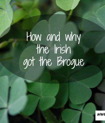 Irish brogue