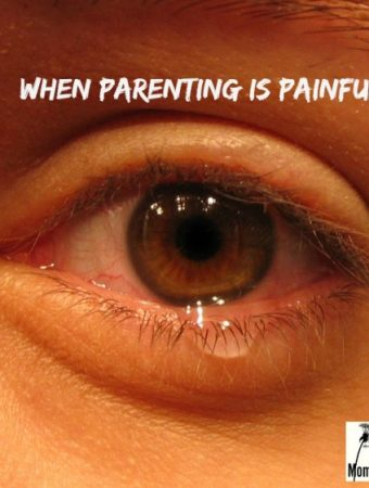 when parenting is painful