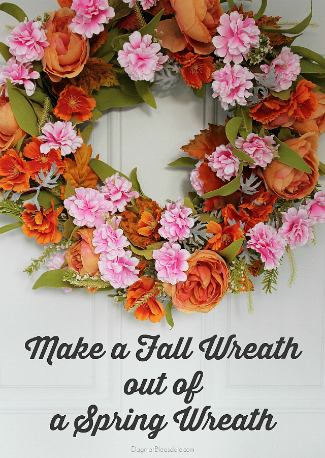 diy fall wreath, DagmarBleasdale.com