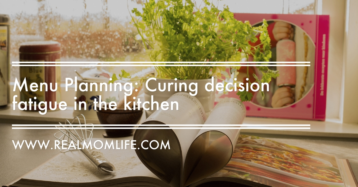Menu Planning: Curing decision fatigue in the kitchen