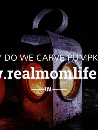 why do we carve pumpkins