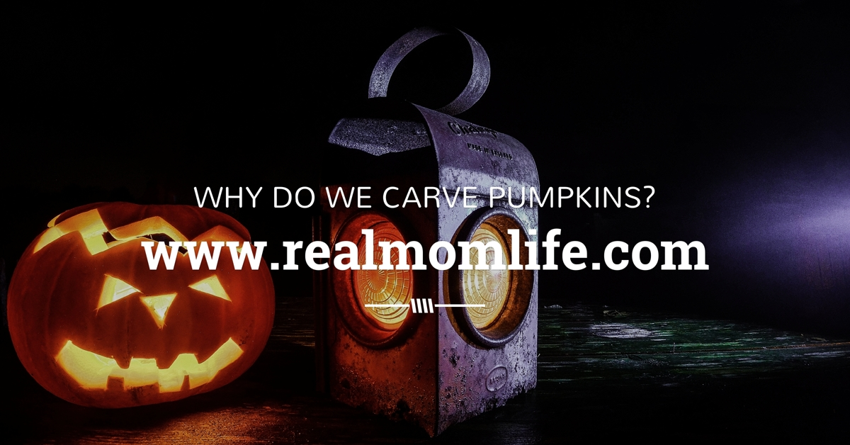 why do we carve pumpkins