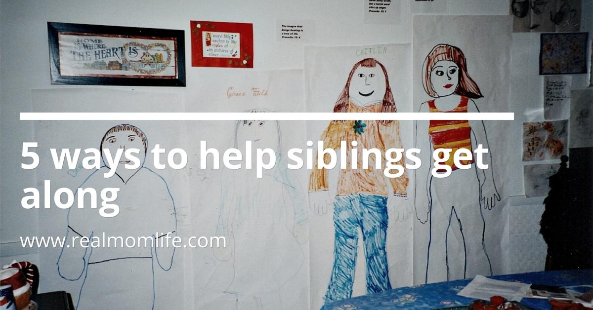 Five Strategies for Helping Siblings Get Along