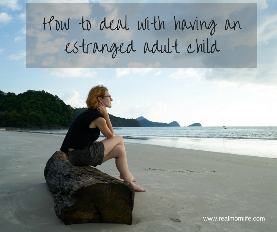 How to deal with having an estranged adult child