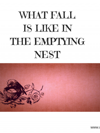 empty nest and fall