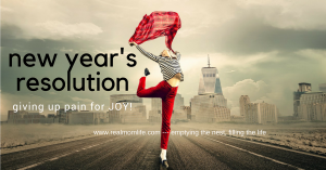 resolutions, joy