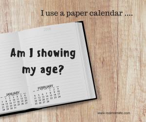 ageism, paper calendar