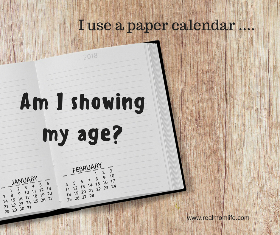 "Ageism? ""My mother uses a paper calendar"""