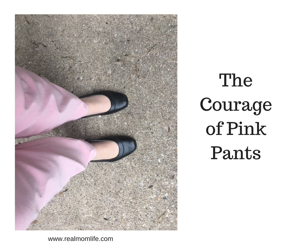 Courage of Pink Pants