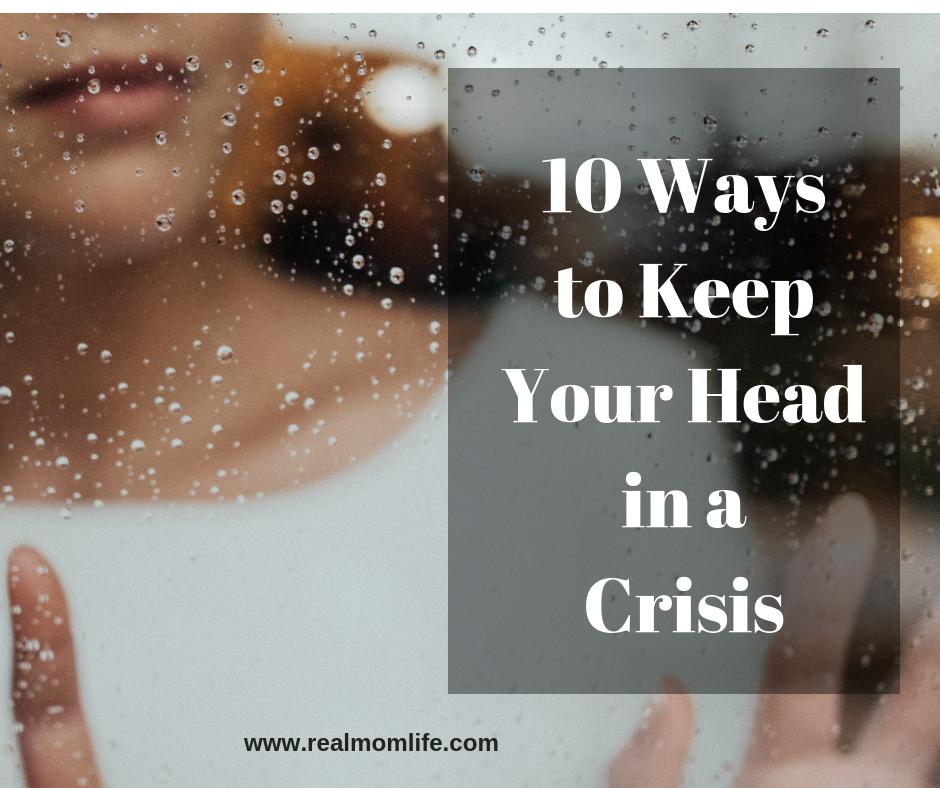 keep your head in a crisis