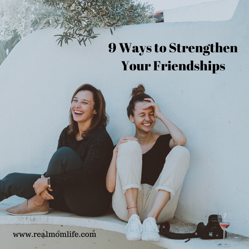 strengthen friendships