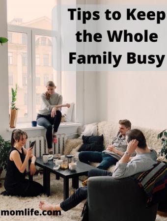 Family covid activities