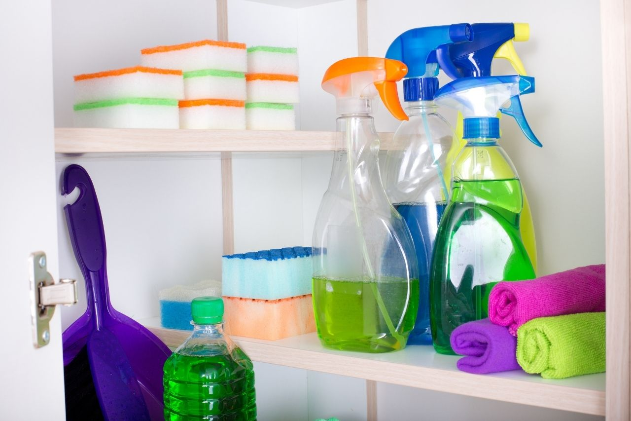 How To Properly Store Cleaning Chemicals